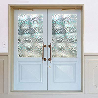 ガラスシート 目隠し モザイクタイルシール 3d窓用フィルム 浴室
