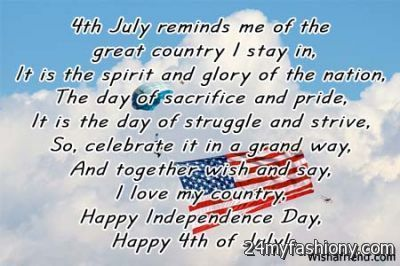Fourth Of July Poems 3