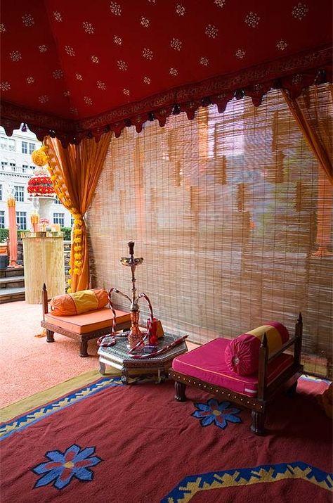 Indian Outdoors Hookah Lounge Decor Lounge Decor Hookah Lounge