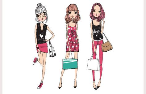 38+ Best Fashion Illustrations with Different Styles