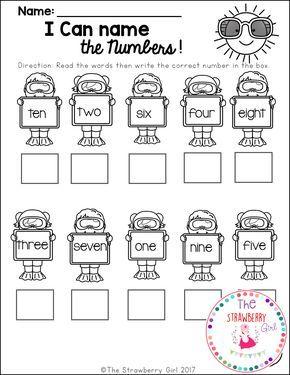3 Free Samples From My Kindergarten Math Worksheets Summer Kindergarten Math Kindergarten Math Worksheets Free Kindergarten Math Free