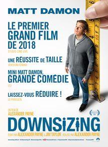 Downsizing Film 2017 Allocine Matt Damon Film Film 2017