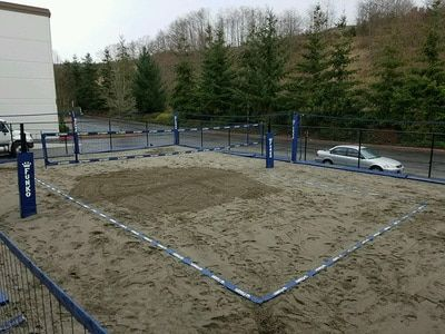 4 Inch Premium Boundary Lines Volleyball Court Backyard Volleyball Volley