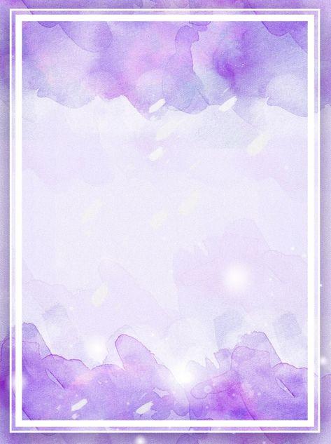 Purple Watercolor Gradient Splash Background