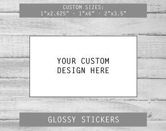 Your Logo Foil Business Logo Stickers Labels Great For Etsy In 2020 Business Logo Design Personalized Sticker Labels