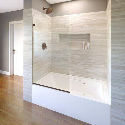 Basco Celesta 34 X 60 Frameless Tub Door Wayfair In 2020 Tub Doors Bathroom Remodel Shower Shower Remodel