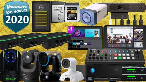 Top Products of 2020 for Live Streaming & Video Production