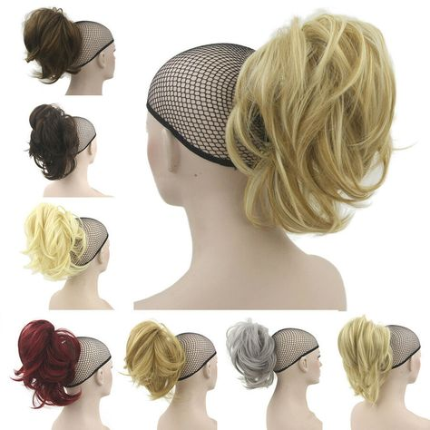 13\' Synthetic Claw Clip on Ponytail Hair