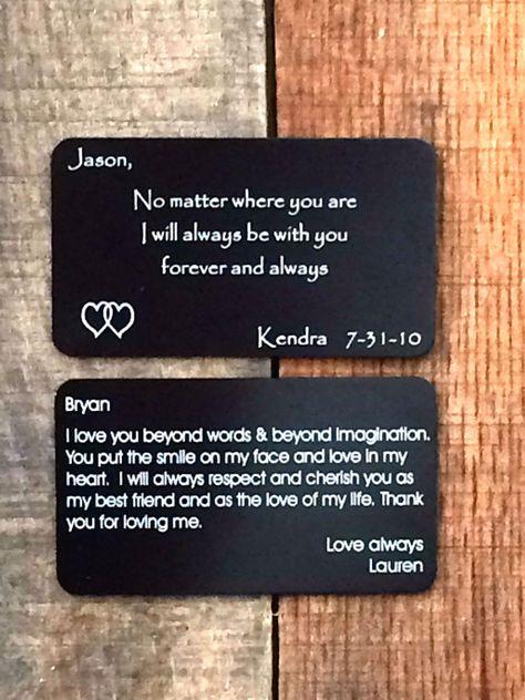 Wedding Day Cards Wedding Day Card Wallet by UrbanFarmhouseTampa