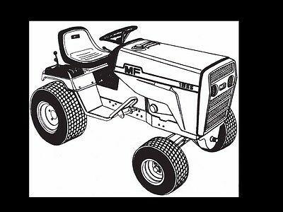 Advertisement Ebay Massey Ferguson Mf 1855 Parts Manual For Mf1855 Garden Tractor Service Repair In 2020 Tractor Parts Toy Car Tractors