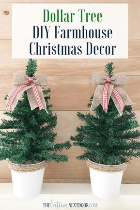 DIY Dollar Tree Christmas Trees - The Latina Next Door,  #Christmas #DIY #Dollar #Door #Latina #Tree #Trees
