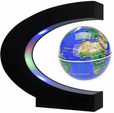 Floating Globe World Map Led Lights Magnetic C Shape For Desk Decoration Fashion Home Garden Homedcor Globes Eba Floating Globe Desk Decor Led Lights