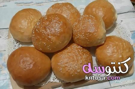 طريقة عمل العيش الكيزر الهش بالصور عمل الكيزر الهش طريقة عمل عيش كيزر ماكدونالدز Food Hamburger Bun Bread