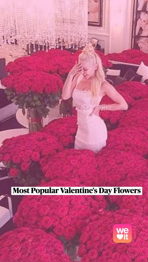 Most Popular Valentine's Day Flowers