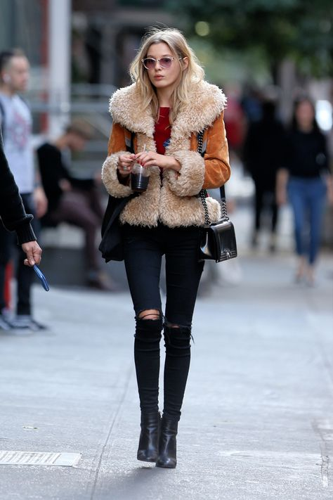 "asoslive: ""Paige Reifler's off-duty 70s vibes are all we want RN: http://asos.do/3rYK7d "" www.fashionclue.net 