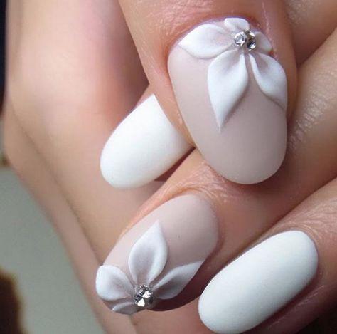 Matte Floral Nail Art - Nailpro