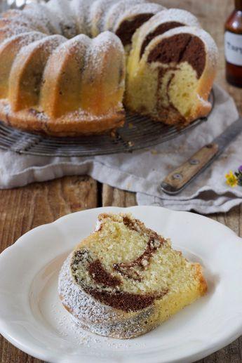 Marmorgugelhupf Marmorkuchen Rezept Marmorkuchen Rezept Marmorkuchen Und Kuchen Rezepte Einfach