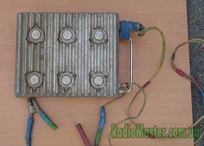 схема мощной электроудочки