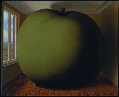 René Magritte - The Listening Room [1952] | par Gandalf's Gallery
