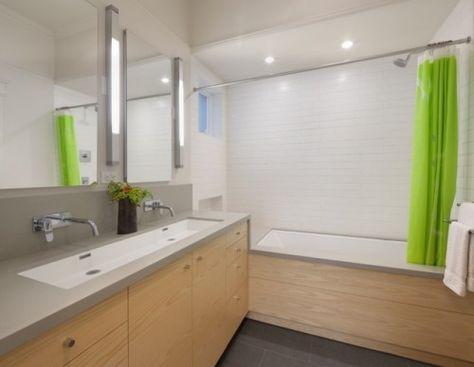 Bathroom contemporary bathroom   (upstairs)