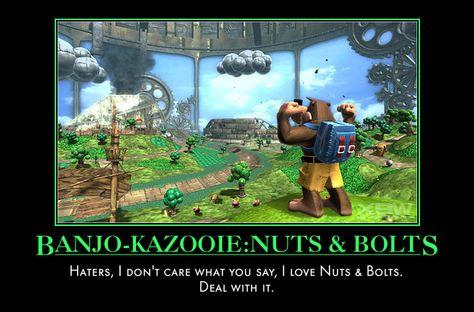 Banjo Kazooie Nuts And Bolts By Tuna5000 Deviantart Com On