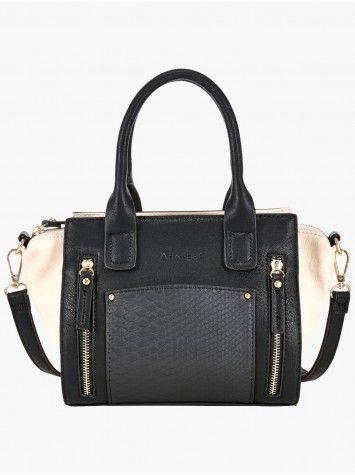 8a7602593d Sac à Main Bicolore A By Andre - La Halle | Accessories | Bags, Sac ...