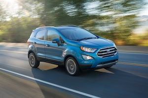 Quick Take 2018 Ford Ecosport Titanium With Images Ford Ecosport Subcompact Suv Ford News