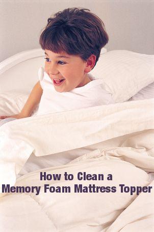 Best Ways To Clean A Memory Foam Mattress Topper Foam Mattress Memory Foam Mattress Memory Foam Mattress Topper