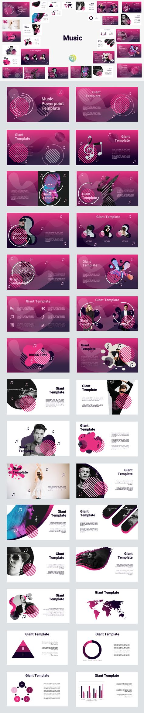 Music Fre Powerpoint Template