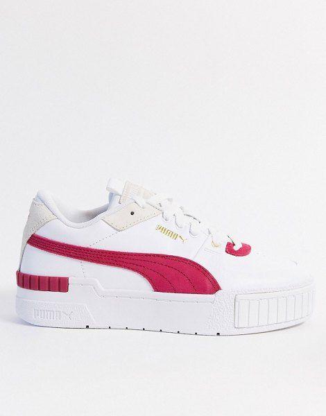 Deliberadamente extraño Verde  Puma Cali Sport Sneakers In Pink | Sneakers, Sport sneakers, Puma cali