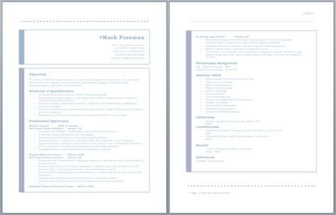 Athletic Trainer Resume resume Pinterest Athletic trainer - athletic training resume