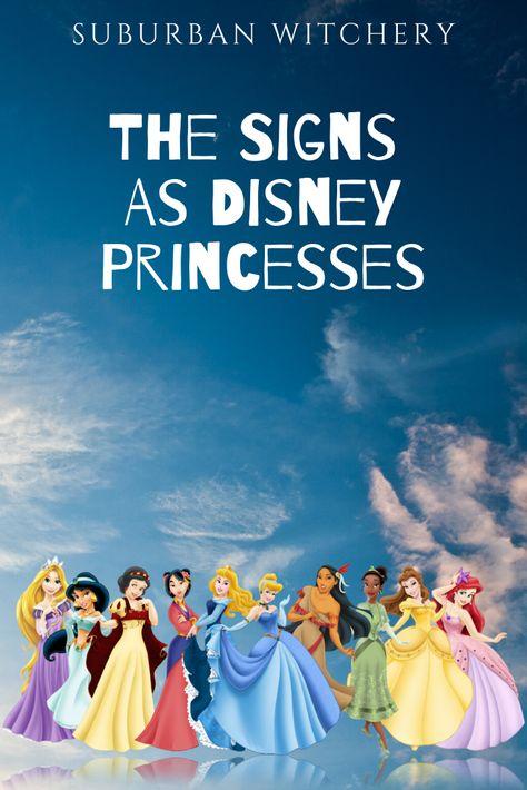 The 12 Zodiac Signs As Disney Princesses — Suburban Witchery