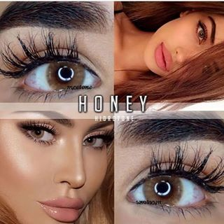 Hidrotone Honey Color Contact Lenses Contact Lenses Colored
