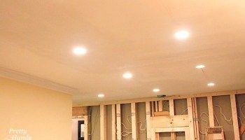 Update Recessed Can Lights With Energy Efficient Led Lights In 2020 Recessed Can Lights Recessed Lighting Installing Recessed Lighting