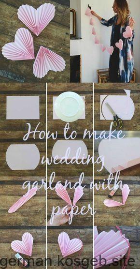 Awww ... ❤ Was für eine niedliche Dekorationsidee für die Hochzeit | Papierg... - #Awww #Dekorationsidee #Die #Eine #für #Hochzeit #Niedliche #Papierg #x2764