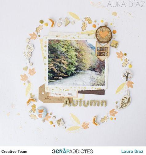 La Mar de Scrap: Reto Octubre Scrapaddictes: LO autumn