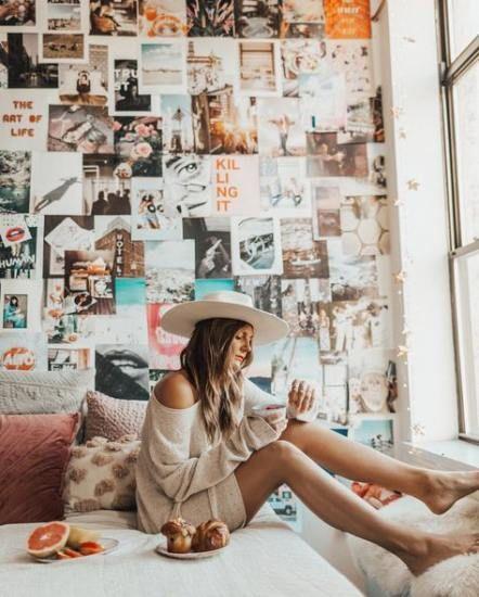 Pin De Giuliana Piccinini En Deco Idea Con Imagenes Decorar Pared Habitacion Collage De Fotos En La Pared Decoracion De Habitaciones