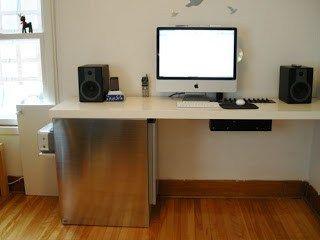 Large Corner Desk Upsized From Ikea Linnmon Tables Large Corner Desk Corner Desk Ikea Hackers