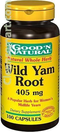 wild yam viktnedgång