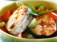 Resep Masakan Spesial Ikan Pindang Bunga Kecombrang Aromatik Penggugah Selera Iniresep Com Resep Resep Masakan Resep Sup Sup Ikan