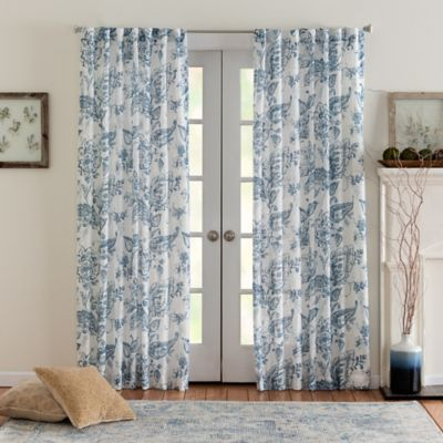 Eastwood Mulberry 108 Inch Rod Pocket Back Tab Window Curtain