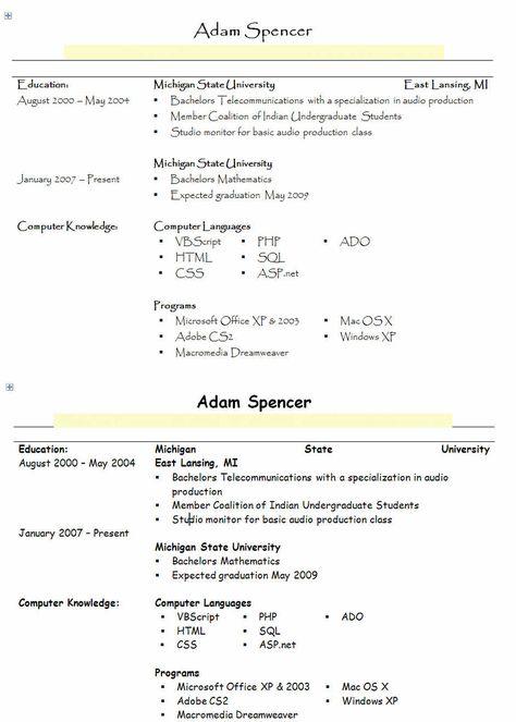 resume heading fonts name header letter format sample image tunnel - header for resume