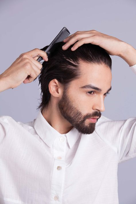 How To Use The Hair Gel Mens Hairstyle Men Style Tips Mens