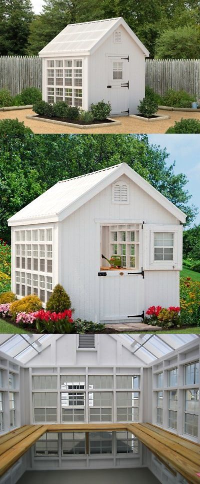 Byzantine 162922 Little Cottage Company Colonial Gable 10 Ft W X 14 Ft D Greenhouse Buy It Now Only 9399 Greenhouses For Sale Little Cottage Greenhouse