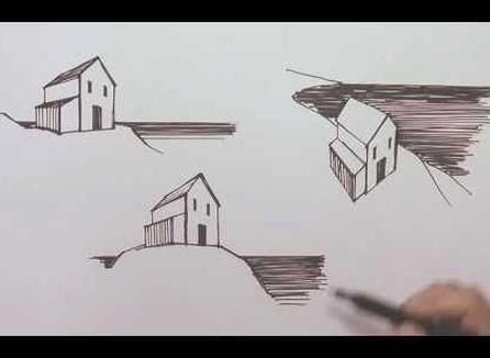Linear Perspective Drawing Lesson 36 One Point Perspective Definition Perspective Cityscape In 2020 Linear Perspective Drawing Perspective Drawing Lessons Drawings