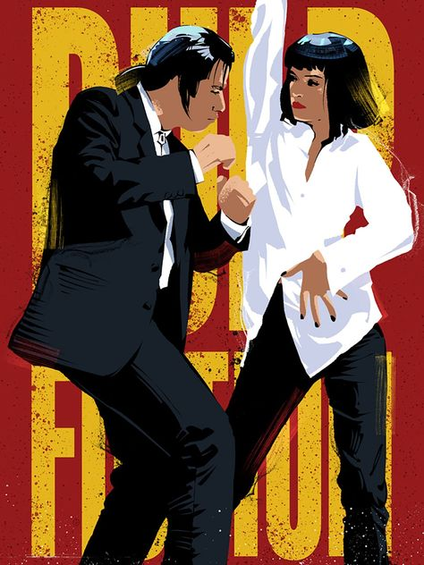 Pulp Fiction, Movie Poster
