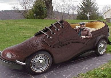 صور سيارات عجيبة وغريبة في العالم 2017 عالم الصور Weird Cars Car Humor Shoes