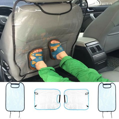Anti Stepped Dirty for Kid Baby Car Seat Back Cover Protector Kick Clean Mat Pad