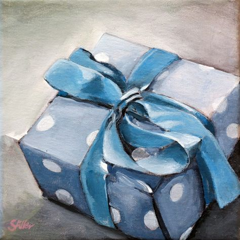 """The Gift"" original fine art by Dietmar Stiller"