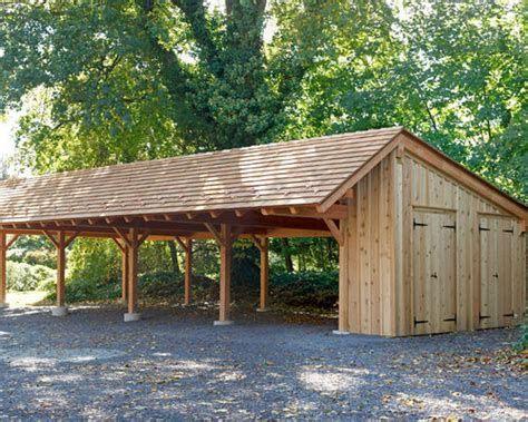 Timber Carport Kits Houzz Tuinhuizen Carport Ideeen Houten